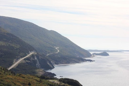 The Cabot Trail en route to Cheticamp