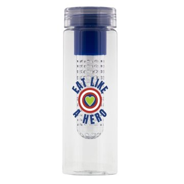 eat like a hero water bottle
