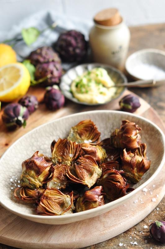 roman fried artichokes