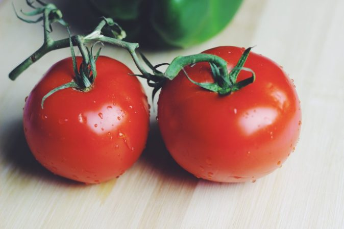 Tomatoes on Vine Eat Live and Play