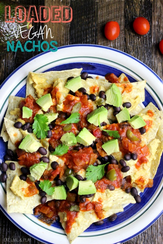 Never Feel Guilty about Eating Nachos Again! Loaded Vegan Nachos…That Actually Taste Good