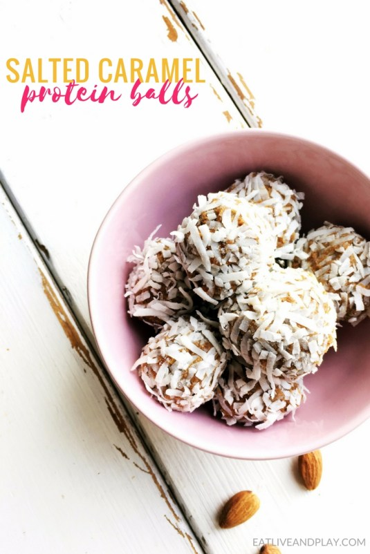 They're sweet, they're sticky and they taste like caramel without the guilt. These Salted Caramel Protein Balls are the perfect healthy snack.