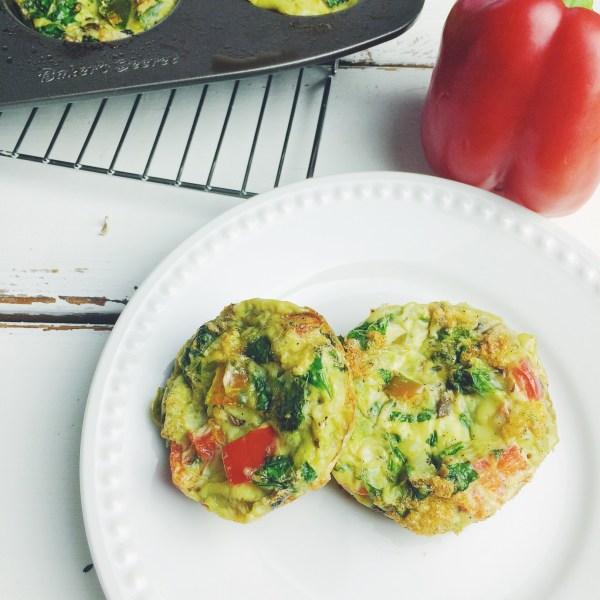 omelette bites