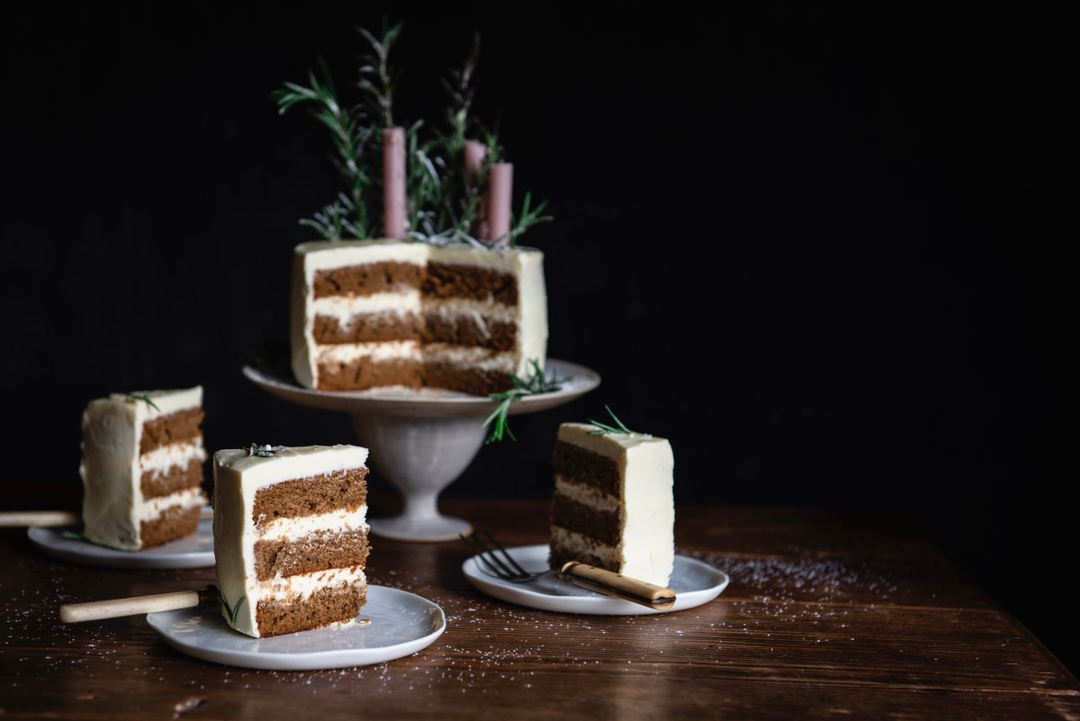 Ingredients for a Beautiful Life!Eat: Gingerbread Layer Cake