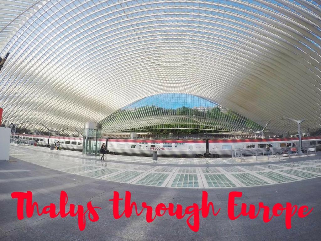 Thalys through Europe