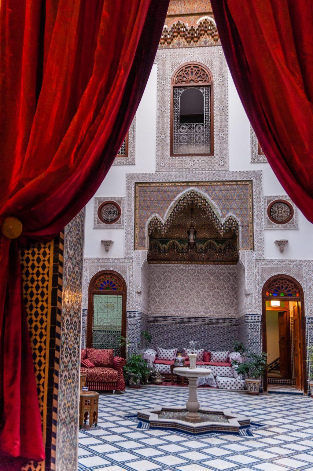 Riad in Marokko