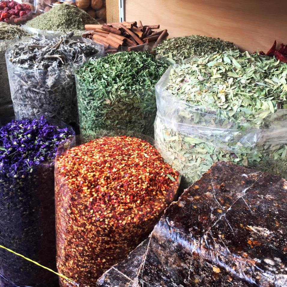 Visit the spice market