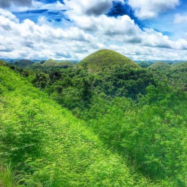 Chocolate Hills in Bohol