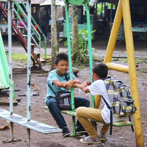 Kids playing