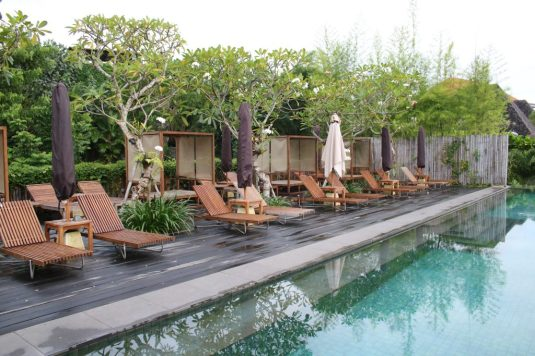 Pool at Bisma Eight in Ubud