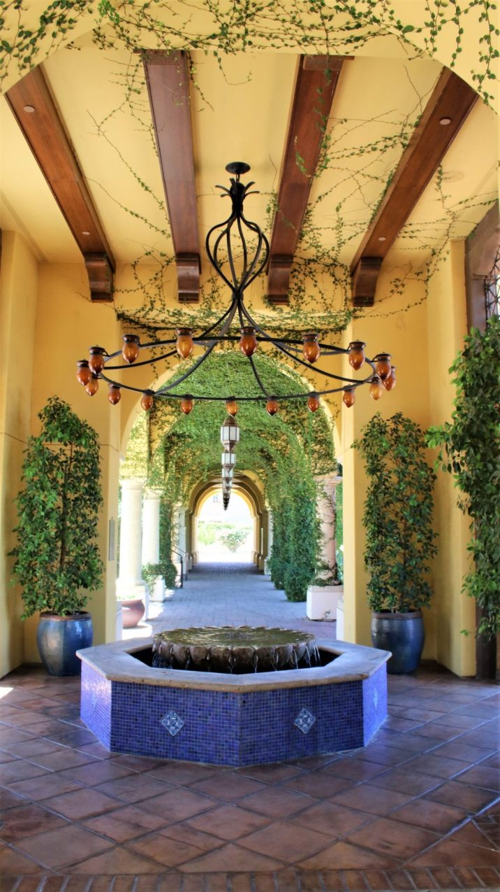 Beautiful Outdoor Hallway