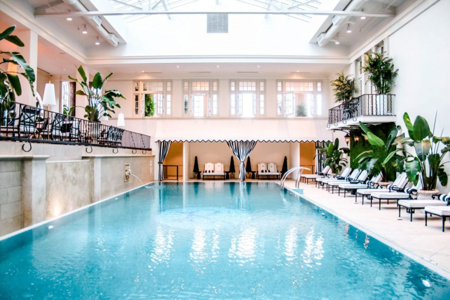 Indoor Pool - Cavalier Hotel