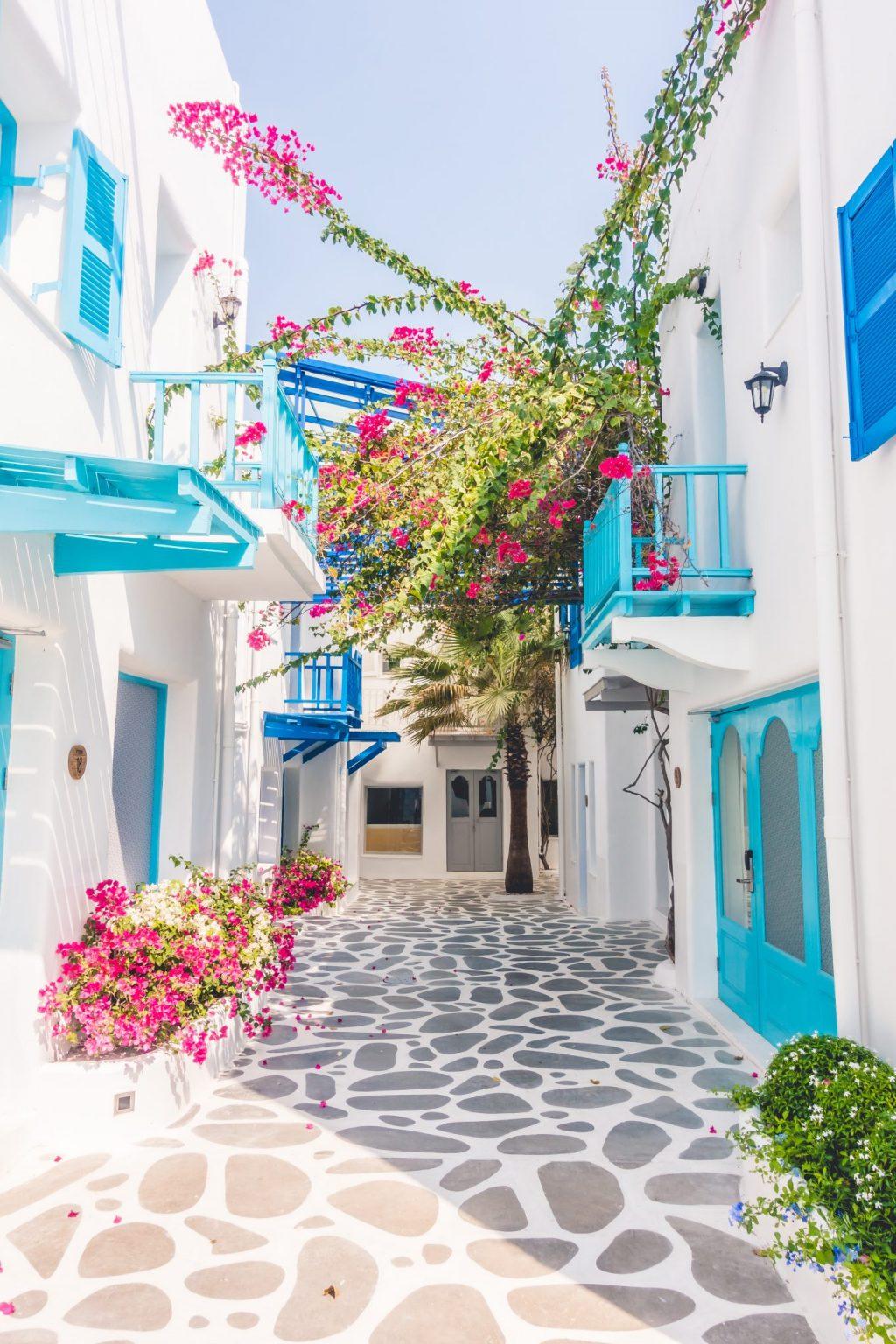 European bucket list destination, Greece. The island of Santorini.