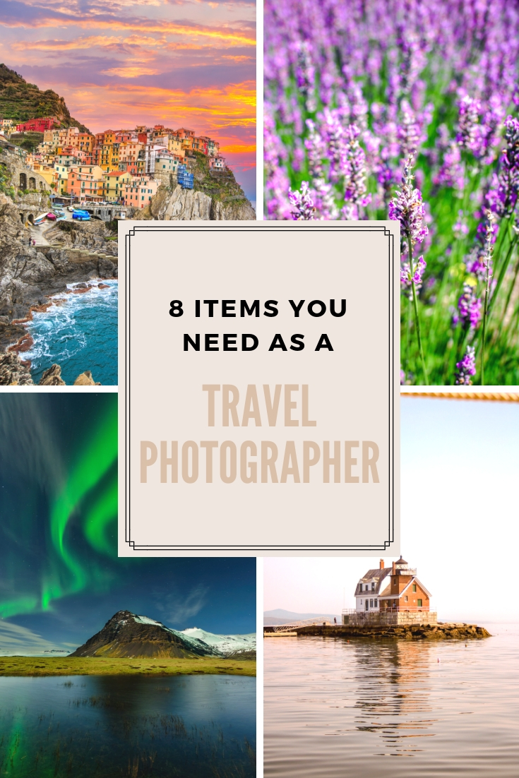 8 AMAZING items to up your travel photography! I started my business with $0 and now make 6 FIGURES to take photos.