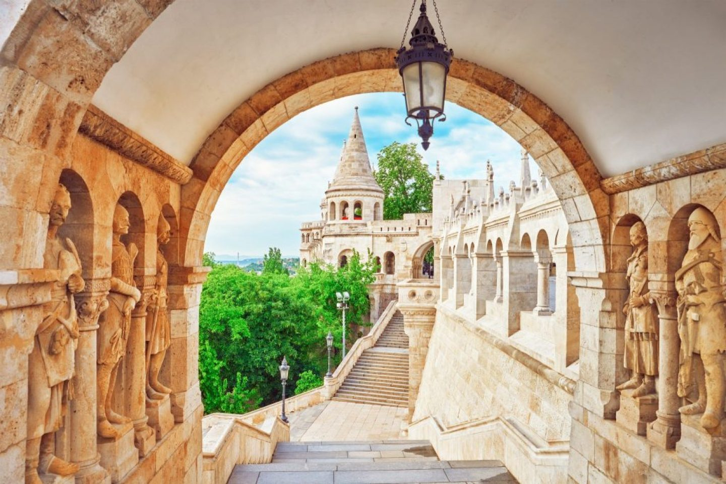 Fisherman's Bastion: part of a 2 days in budapest guide