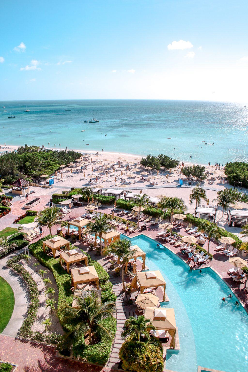 Where To Stay In Aruba: A Luxury Getaway At The Ritz Carlton - balcony views