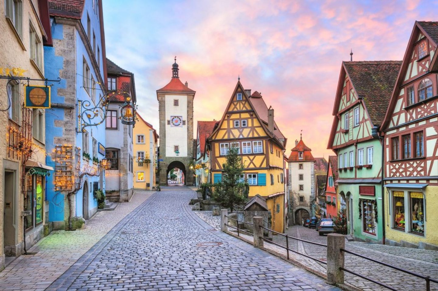 Beautiful Cities In Germany: rothenburg ob der tauber