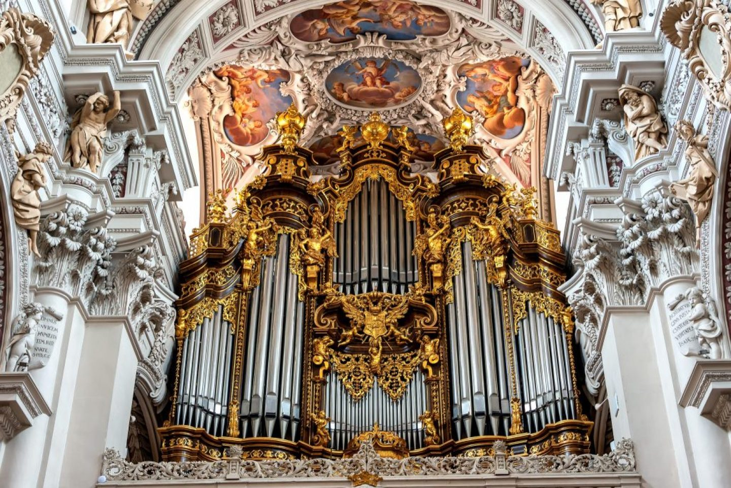 St. Stephan's Cathedral in Passau Germany
