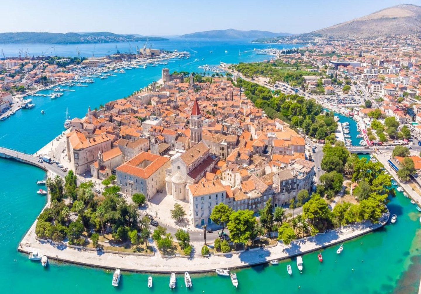 trogir - day trip from one day in split