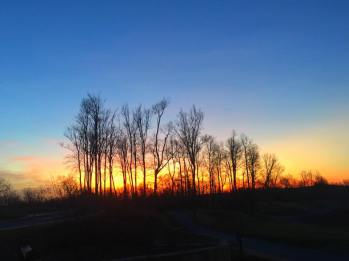 Sunset at Primland