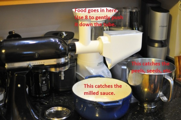How To Set Up A KitchenAid Food Mill Attachment EatLocal365