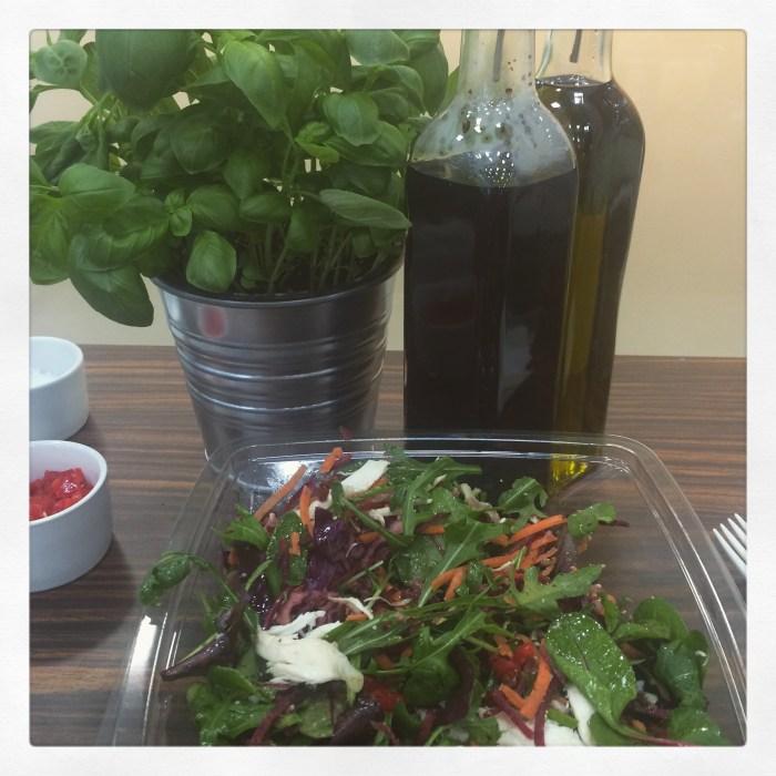 A big ass salad from Chop'd!