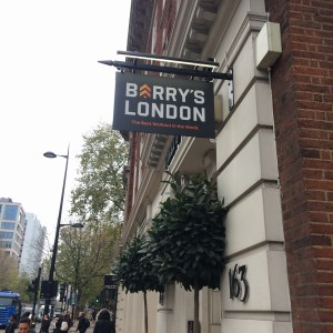 barry's bootcamp london central