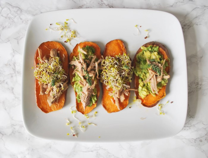 sweet potato and pulled pork sliders 2