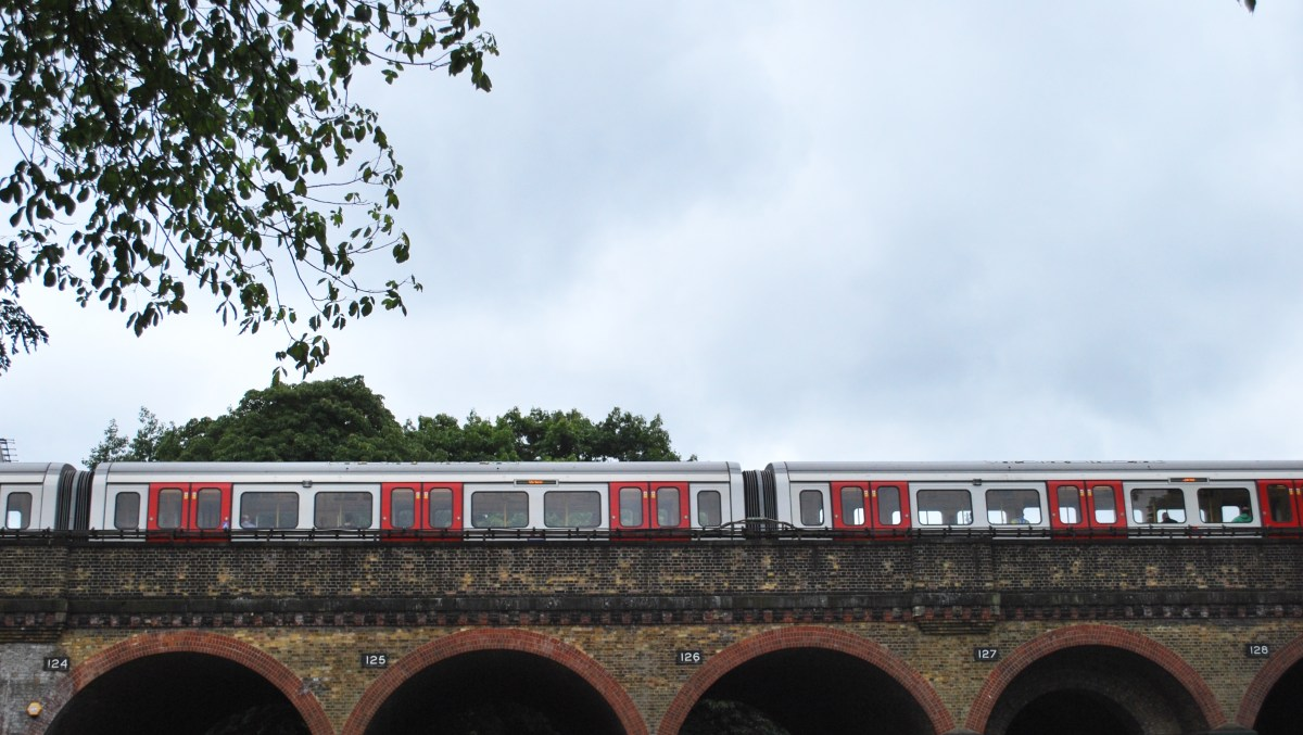 train in west london