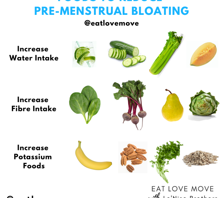 Foods To Reduce Premenstrual Bloating