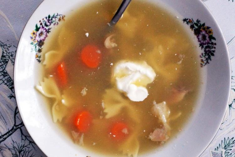 Zupa z ryb słodkowodnych