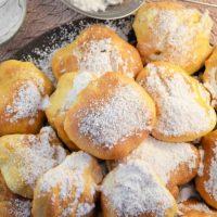 """Pączki bez tłuszczu, czyli """"fit"""" pączki prosto z piekarnika"""