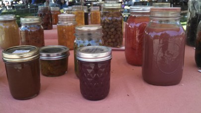 Everyone's a winner here with these gorgeous canned/pickled/preserved goodies.