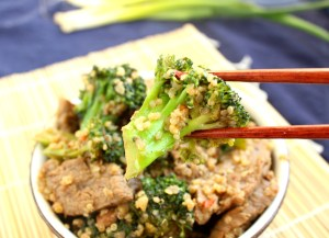 Beef, Broccoli and Quinoa Stir-Fry