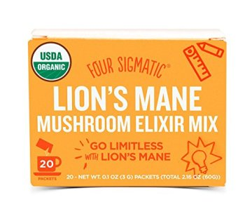 Image of Box of Lion's Mane Mushroom Elixir Mix