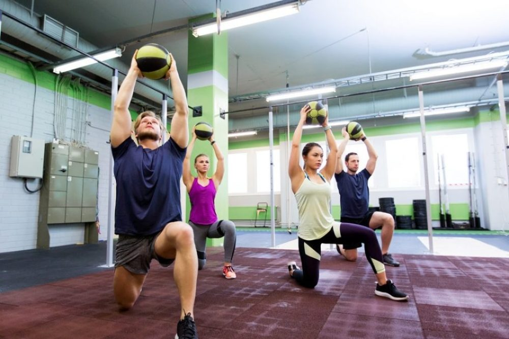 At Home Training Idea #3 - Medicine Ball