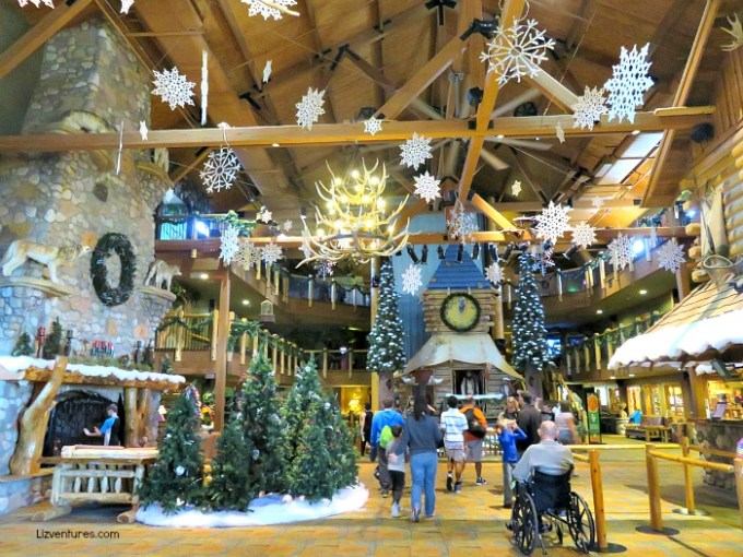 great wolf lodge lobby christmas decor concord nc christmas fun in concord north carolina lizventures