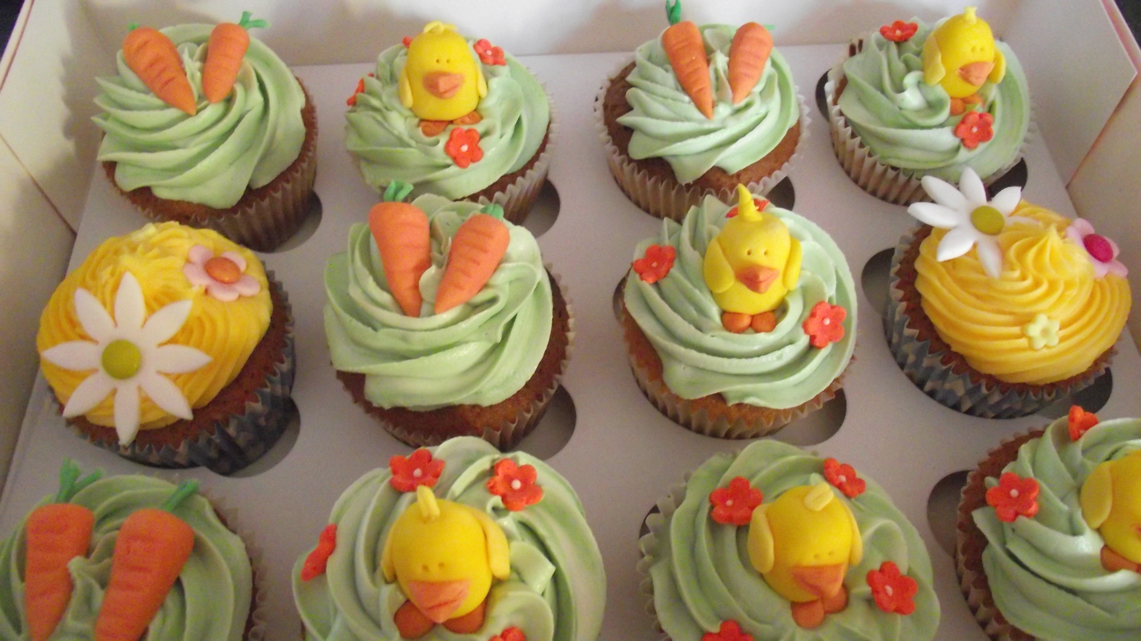 Easter Cupcake Yummies