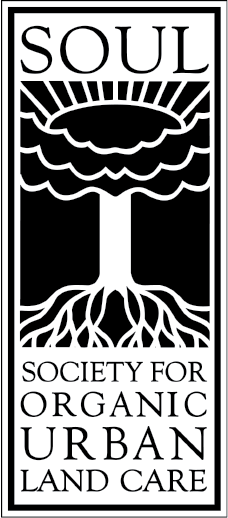 Official-Soul Logo Society for organic urban land care organic lawn