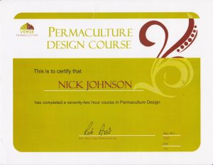 Permaculture Design certification Contact Me