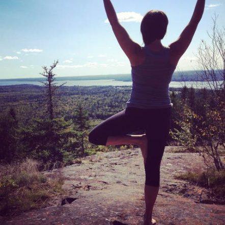 yoga for spring lawn & garden tips