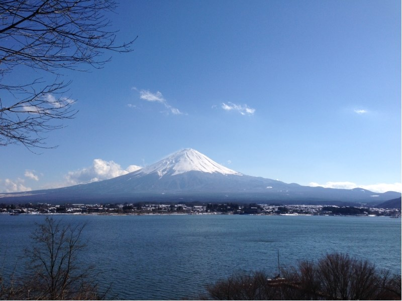 Vue face au Mont Fuji