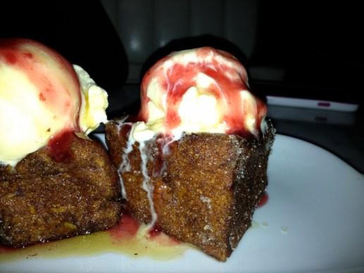 Un dessert du Deville Dinerbar