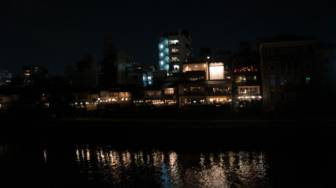 la rivière Sumida de nuit