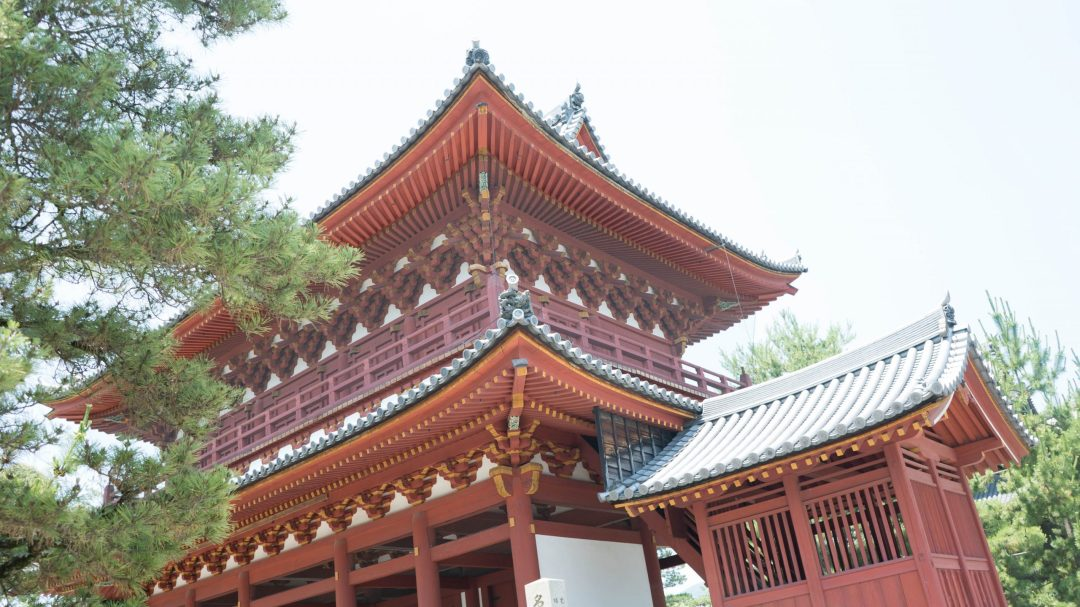 le templeMyôshin-ji à Kyoto