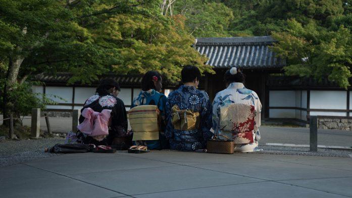 Des geishas à Kyoto