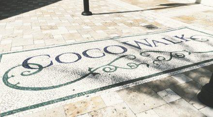 Coco Walk, shopping mall in Coconut Grove Miami