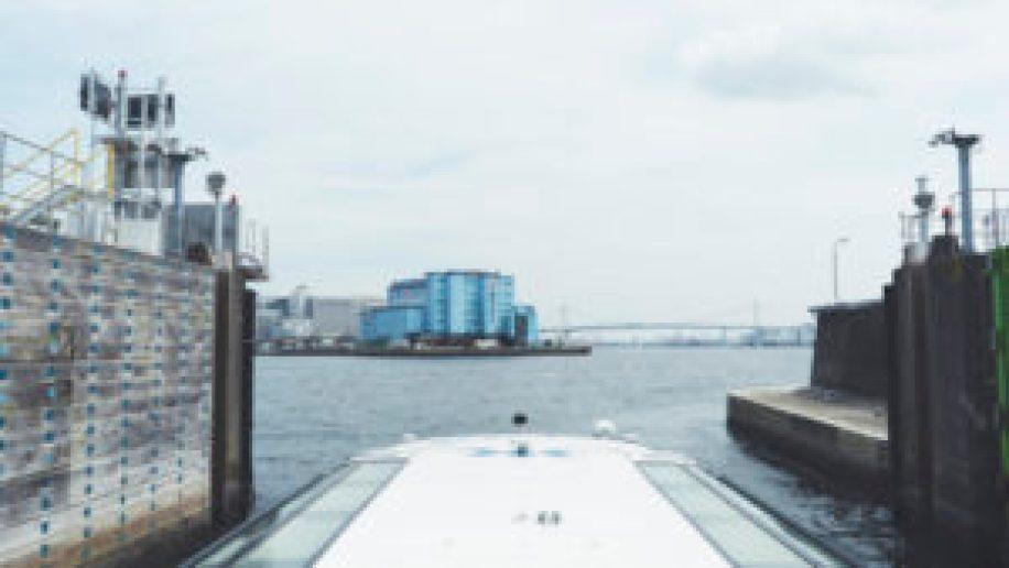 Le bateau menant à Odaiba