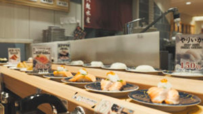 Sushis à Osaka