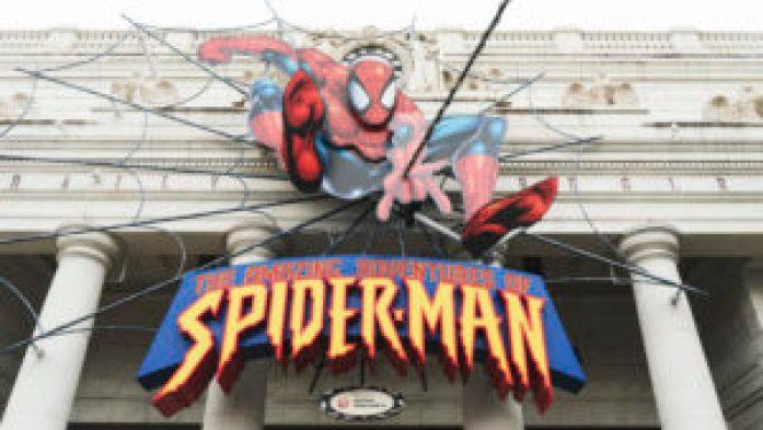 L'attraction Spiderman à Universal Studio Japan